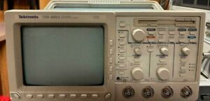 Tektronix Tds460a Oscilloscope 400mhz 100ms s 4 Chs Fully Tested
