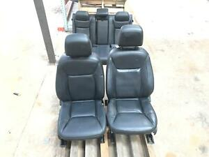 11 14 Chrysler 300 Front Rear Right Left Leather Seats Set Oem Black Seat