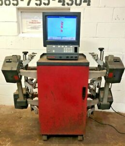 Hunter 311 Wheel Alignment Machine Updated To 2012 191