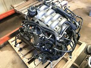 18 19 Ford Mustang 5 0l At Vin F 8th Digit Engine Motor And Transmission Damaged