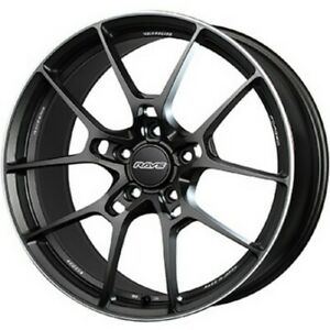 Rays Volkracing G025 20x9 5j 10 5j Black Set Of 4 For Nissan Gt R From Japan