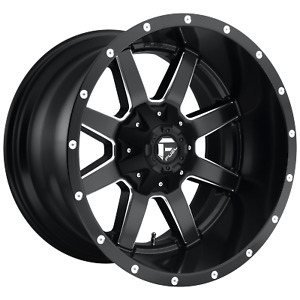 Fuel Offroad Maverick Front Dually D538 1piece 24x8 25 8x170 176 Wheel 24 Inch