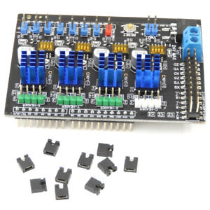 Maker Shield Arduino Uno Compatible Shield 4axis Motion Control Card For Diy Cnc