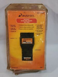 Actron Code Scanner Cp9001 Gm Amp Saturn 1982 1995