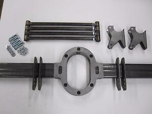Universal Pro Street 4 Link Kit Suspension W Drive Shaft Loop Made In Usa
