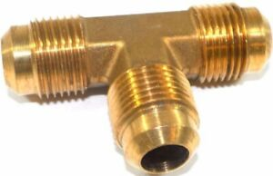 Big A Service Line 3 144900 Brass Pipe Tee Fitting 5 8 X 5 8 X 5 8