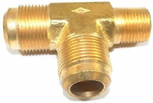Big A Service Line 3 151928 Brass Pipe Tee Fitting 3 4 X 1 2