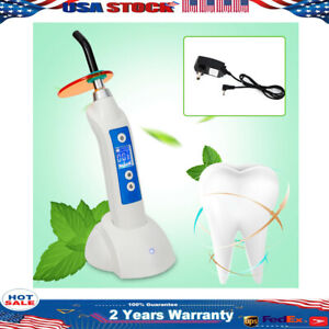 Dental Led b Wireless Cordless Curing Light Lamp Main Unit Fiber Hood Pedestal