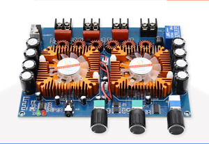 Tda7498e Digital Bluetooth 5 0 Power Amplifier Board 160w 2 220w Stereo 2 1ch