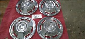 1967 Chevrolet Chevy Camaro 14 Hubcaps Wheel Covers Center Caps 67