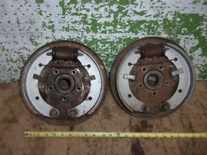 1951 Plymouth Rear Brake Backing Plate Left Right Hardware 1952 1951 1949 Oem
