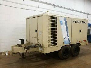 Ingersoll Rand Portable towable Air Compressor Used Am20442