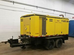 Atlas Copco Xats920 Portable trailer Oil Lubricated Screw Compressor Am20444