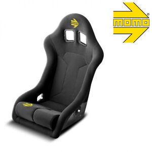 Momo 1082blk Racing Seat Supercup Xl Fia Approved Black Hardshell