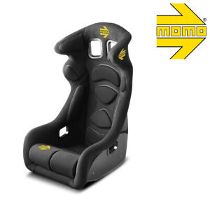 Momo 1078blk Racing Seat Lesmo One Xl Fia 8855 1999 Black Hardshell