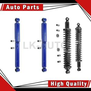 Monroe Shocks Struts Front Rear 3 Of Shock Absorbers For Ford Deluxe
