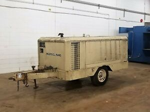 Ingersoll Rand Portable towable Air Compressor Used As is Am20443