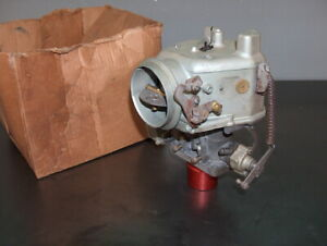 International Med Truck Nos Holley 2 Barrel Carburetor 852 ffg Carb W governor
