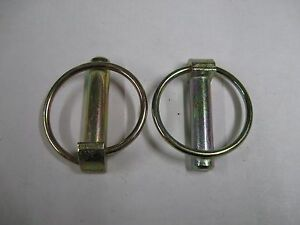 2 Western Fisher 7 16 Linch Pins For Snow Plow Skid Shoes May Fit Others