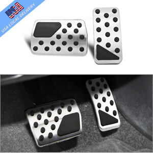 For Jeep Compass Dodge Journey Non slip Automatic Gas Brake Pedals Pad Cover