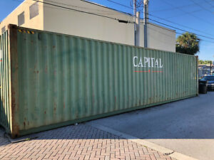40 Ft Used Storage Container For Sale West Palm Beach South Florida 2500
