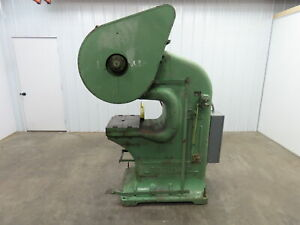 Rousselle 3g 25 Ton Mechanical Punch Press 14 x 20 Bed 2 Stroke 19 Throat