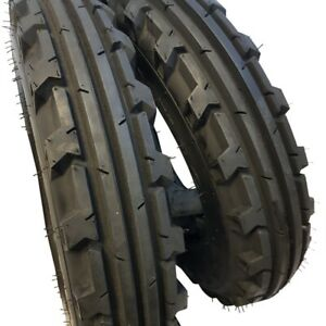 7 50 16 2 Tires No Tubes 8 Ply Road Crew Knk 30 Farm Tractor 7 50x16
