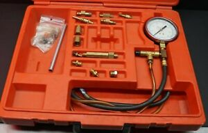 Snap on Usa Fuel Pressure Gauge Set Case With Extras