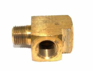 Big A Service Line 3 22720 Brass Pipe Tee Fitting 1 8 X 1 8 X 1 8