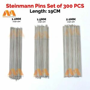 Steinmann Pins Set Of 300 Pcs 19 Cm Orthopedic Surgical Top Quality Instruments