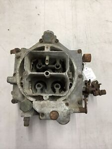 Carter Wcfb Carburetor Gm 0 981 For Parts As Is