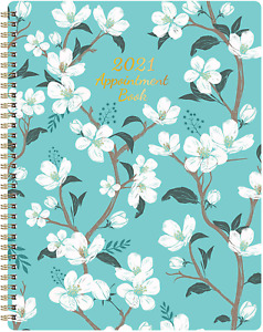 2021 Weekly Appointment Book Planner 2021 Daily Hourly Planner 8 X 10