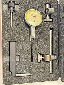 Starrett 709a Dial Test Indicator Fully Jeweled Carbide Point 0005