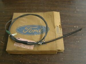 Nos Oem Ford 1967 1968 1969 F350 Truck Rear Brake Cable Lh