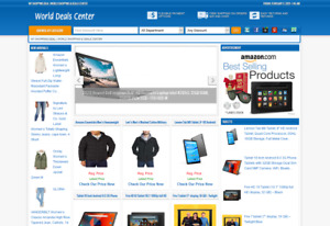Online Shopping Website Turnkey Amazon Affiliate Store Auto Update
