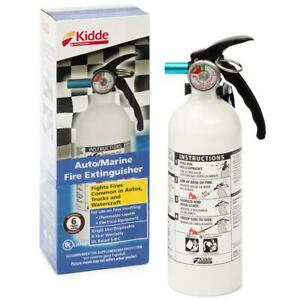 Fire Extinguisher Disposable 5 b c 3 lb Marine Car Boat Home Office Safety