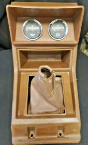 80 86 Datsun Nissan 720 Pick Up Truck Center Shift Console With Gauges Oem
