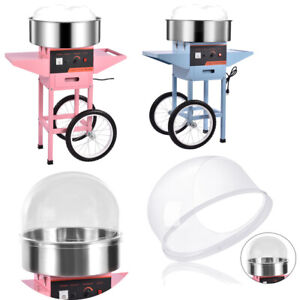 Commercial Electric Cotton Candy Machine Sugar Floss Maker Party Cover Optional
