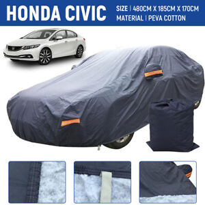 For Honda Civic Car Cover All Weather 100 Waterproof Premium Custom