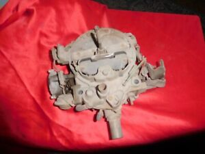 1977 1978 1979 Pontiac Trans Am Firebird Quadrajet 4 Barrel Carburetor 17057262
