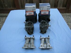 Porsche 356 Zenith 32 Indix Super Carburetors Manifolds And Air Cleaners