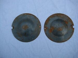 Vintage Vw Bug Oval And Split Window Original Steering Box Covers A