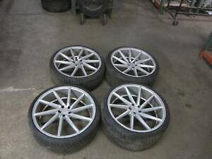 2010 2013 Jaguar Xj Wheel Tire Set Vossen 10 Spoke Aftermarket 2011