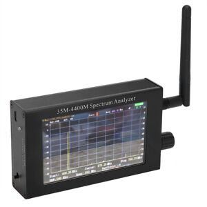 Usb Frequency Spectrograph Spectrum Analyzer With Lcd Display Screen Aluminum