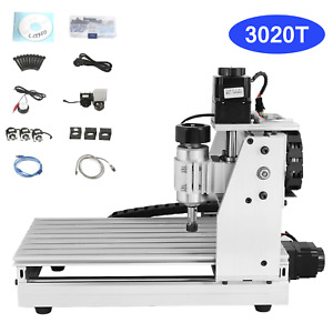 3 Axis 3020t Usb Cnc Router Engraver Machine Wood Carving Engraving Machine