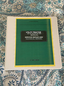 John Deere Jd 670 770 790 870 970 1070 Tractor Service Repair Manual Binder 1470