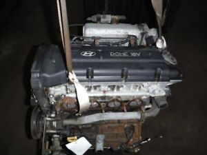 Engine 2 0l Vin F 8th Digit Thru 07 06 99 Fits 97 99 Tiburon 381519