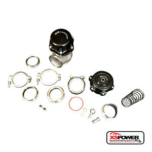 Xs power 50mm Wastegate 50mm Blow Off Valve Bov Complete Combo Kit Turbo Bov