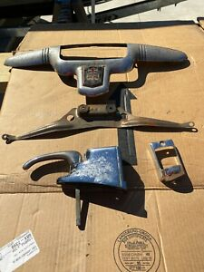 1946 1947 And 1948 Dodge Trunk Ornament And Handle