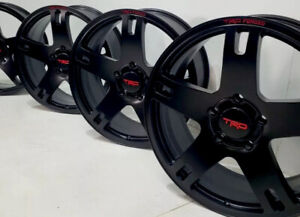 22 Toyota Tundra Sequoia Trd 22 Forged 4 Wheels Rims Black Factory Oem 69586